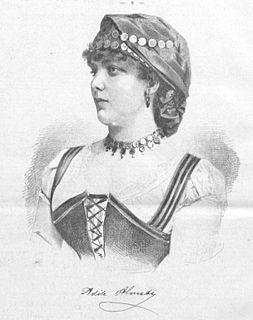 Adèle Almati Swedish actress
