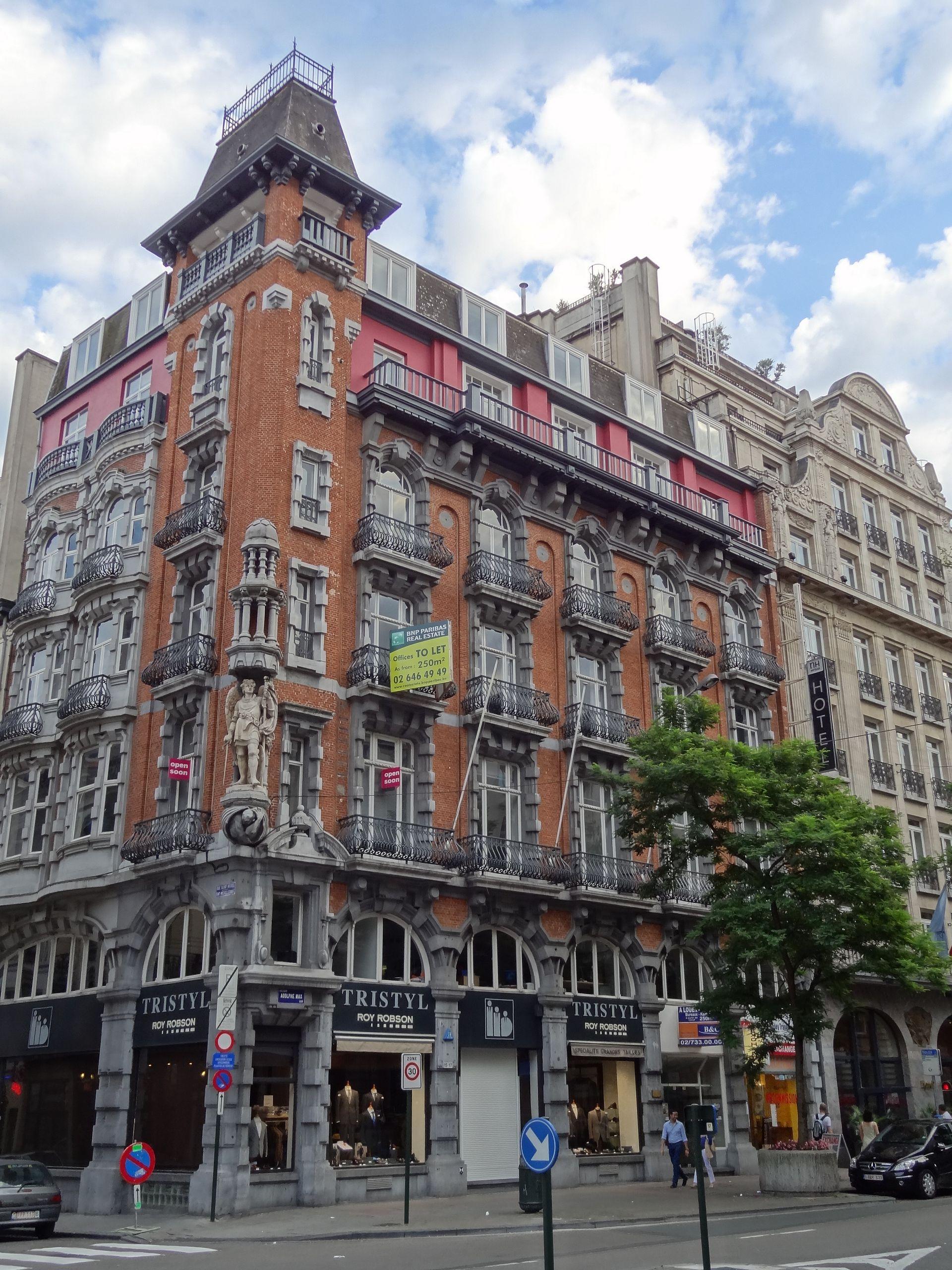 Maison thonet bruxelles wikip dia for Maison minimaliste belgique