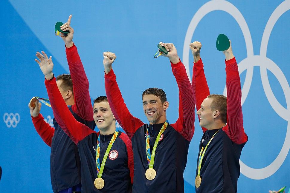 Adrian, Held, Phelps, Dressel Rio 2016