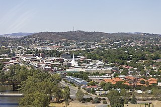 Wagga Wagga City in New South Wales, Australia