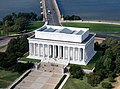 Aerial view of Lincoln Memorial - east side.jpg