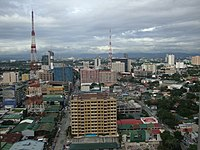Aerial view of South Triangle, Quezon City 2010-08-27