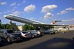 Aeroflot Ilyushin Il-62M gate guardian at SVO (2).jpg
