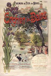 Affiche Chemin de Fer du Nord - Enghien-les-Bains.jpg