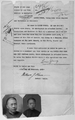 Affidavit of Louie Young Stating that He is the Father of Louie Jock Sung, and Deposition of Non Chinese Witnesses (Documents Were Executed in New York City) WDL2712.png