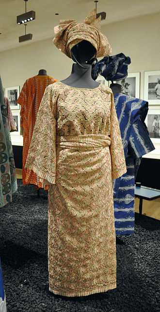 Lurex - African lace made with Lurex