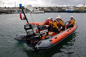 Atlantic 21-class lifeboat - Atlantic 21 B-584 on exercise in Bangor Bay in 2006