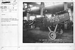 Airplanes - Manufacturing Plants - Manufacturing airplanes for the government by Dayton-Wright Airplane Company. Completed plane on exhibition - NARA - 17339898.jpg