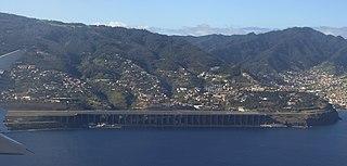 international airport serving Madeira, Portugal
