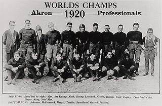 1920 Akron Pros season