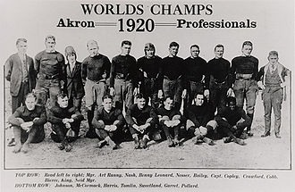 Akron Pros - Akron Pros' 1920 team photo
