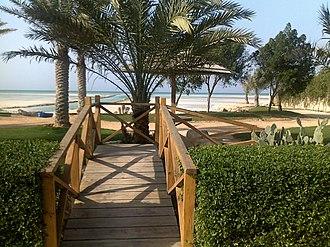 Al Shamal - A park in Al Shamal.