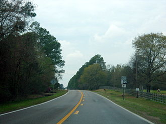 Alabama State Route 193 - State Route 193 runs north