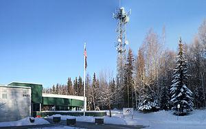 Alaska Public Media - Alaska Public Media's station in Anchorage, Alaska at 3877 University Drive.
