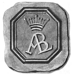 English: The first seal of the city of Albany,...
