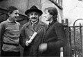 Albert Einstein met Paul en Galinka Ehrenfest.jpg