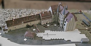 Albrechtsburg - Earlier model of the castle