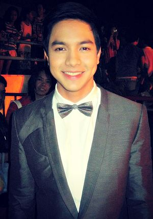 AlDub - Richards portrays as the male protagonist on AlDub and young version of Anselmo