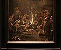 Alessandro magnasco, monaci che si scaldano al fuoco, 1725 ca. 02.JPG