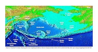 Shirshov Ridge - Aleutian Basin features.