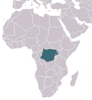 Alexander's kusimanse - Image: Alexander's Cusimanse area