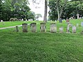 Alexander Doak and his three wives headstones.jpg