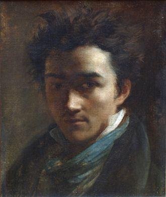 Alexandre-Marie Colin - Presumably a self-portrait of Colin