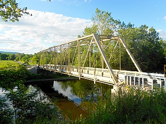 Porter Township, Huntingdon County, Pennsylvania - Image: Alexandria Pike Bridge 1889 1