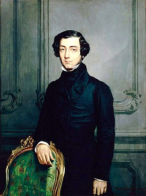 Alexis de Tocqueville toured America in the 18...