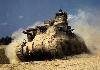 M3 Lee - Medium Tank, M3, Fort Knox, June 1942