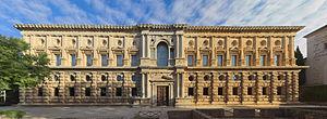 Palace of Charles V - Image: Alhambra Palacio Carlos V. South