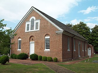 National Register of Historic Places listings in St. Mary's County, Maryland - Image: All Faith Church Jul 09
