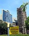 All Saints (formerly St. Matthew's) Episcopal Church graveyard sign jeh.jpg
