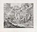 Allegorie op de Waakzaamheid, 1795 Vier allegorieën op de omwenteling in 1795 (serietitel), RP-P-1944-1879.jpg