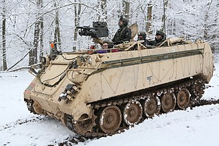 M113 armored personnel carrier Armored personnel carrier