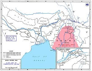 Allied lines of communication in India, Burma,...