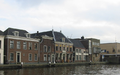 Houses on the Oude Rijn near Alphen aan den Rijn