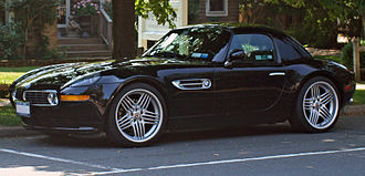 BMW Z8 - Alpina V8 Roadster with hardtop in place