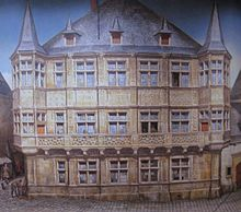 Gro herzoglicher palast luxemburg wikipedia - Architekt luxemburg ...