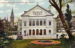 Altes Leipziger Stadttheater, 1906 (Quelle: Wikimedia)