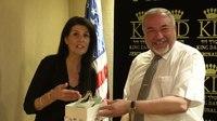 File:Ambassador Nikki Haley meets Israeli MoD Lieberman.webm