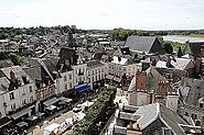 Amboise (cityview from the castle)