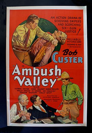 Ambush Valley - Theatrical poster