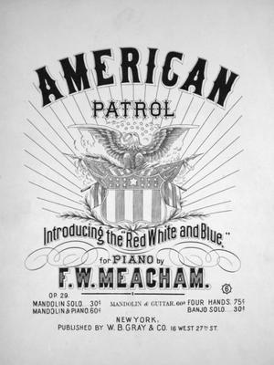 American Patrol - Image: American Patrol 1885