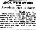 Amok with sword - Abyssinian shot in Rome.jpg