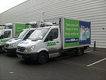 An ASDA Mercedes Benz Sprinter delivery van.jpg