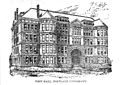 An engraving of West Hall (Waldschmidt Hall) at the University of Portland.jpg