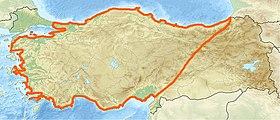 Limites de l'Anatolie.