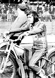 Anders Michanek Swedish speedway rider