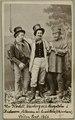 Andersson, Pettersson och Lundström, Södra teatern 1865. Rollporträtt - SMV - H1 131.tif